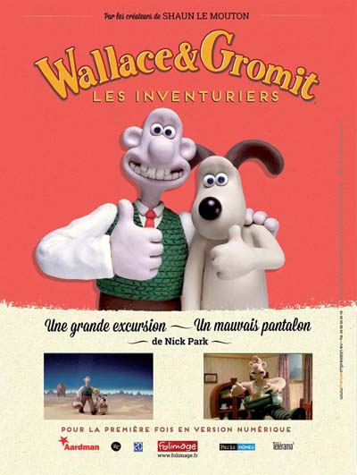 Wallace et Gromit - © Studio Folimage