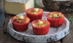 Muffins tomates séchées, ciboulette et Tomme de Savoie